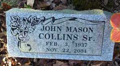 COLLINS, SR., JOHN MASON - Crawford County, Arkansas | JOHN MASON COLLINS, SR. - Arkansas Gravestone Photos