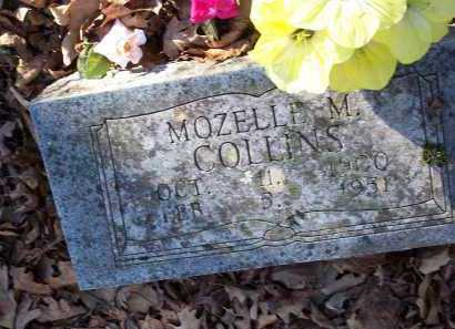 COLLINS, MOZELLE M. - Crawford County, Arkansas | MOZELLE M. COLLINS - Arkansas Gravestone Photos
