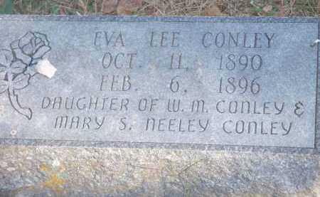 CONLEY, EVA LEE - Crawford County, Arkansas | EVA LEE CONLEY - Arkansas Gravestone Photos