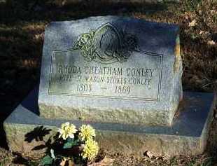 CONLEY, RHODA - Crawford County, Arkansas   RHODA CONLEY - Arkansas Gravestone Photos