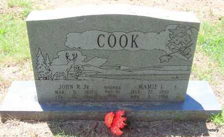 COOK, JR, JOHN R - Crawford County, Arkansas | JOHN R COOK, JR - Arkansas Gravestone Photos