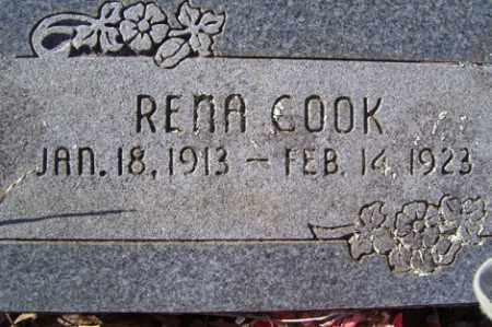 COOK, RENA - Crawford County, Arkansas   RENA COOK - Arkansas Gravestone Photos