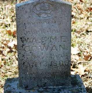 COWAN, INFANT DAUGHTER - Crawford County, Arkansas | INFANT DAUGHTER COWAN - Arkansas Gravestone Photos