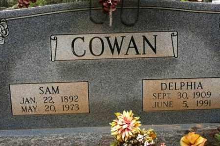 COWAN, SAM - Crawford County, Arkansas | SAM COWAN - Arkansas Gravestone Photos