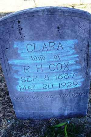 RADER COX, CLARA - Crawford County, Arkansas   CLARA RADER COX - Arkansas Gravestone Photos