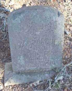 CRADDUCK, J.W. - Crawford County, Arkansas | J.W. CRADDUCK - Arkansas Gravestone Photos