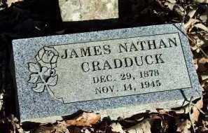 CRADDUCK, JAMES NATHAN - Crawford County, Arkansas | JAMES NATHAN CRADDUCK - Arkansas Gravestone Photos