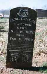 CRADDUCK, RACHEL ELIZABETH - Crawford County, Arkansas | RACHEL ELIZABETH CRADDUCK - Arkansas Gravestone Photos