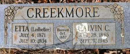 CREEKMORE, CALVIN C - Crawford County, Arkansas | CALVIN C CREEKMORE - Arkansas Gravestone Photos