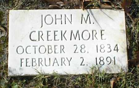 CREEKMORE, JOHN M - Crawford County, Arkansas   JOHN M CREEKMORE - Arkansas Gravestone Photos