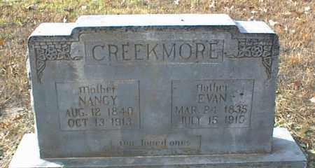 CREEKMORE, NANCY - Crawford County, Arkansas | NANCY CREEKMORE - Arkansas Gravestone Photos