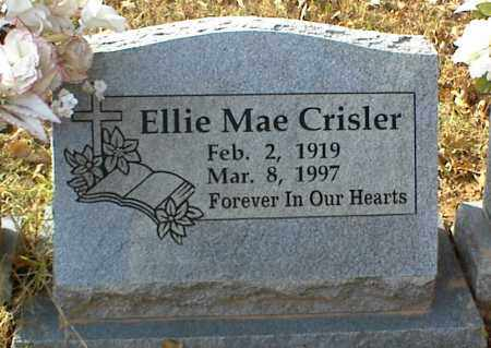 CRISLER, ELLIE MAE - Crawford County, Arkansas   ELLIE MAE CRISLER - Arkansas Gravestone Photos