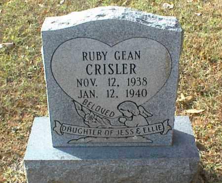 CRISLER, RUBY GEAN - Crawford County, Arkansas   RUBY GEAN CRISLER - Arkansas Gravestone Photos