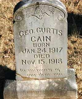 CURTIS, GEORGE - Crawford County, Arkansas   GEORGE CURTIS - Arkansas Gravestone Photos