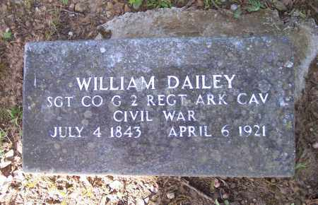 DAILY (VETERAN UNION), WILLIAM - Crawford County, Arkansas   WILLIAM DAILY (VETERAN UNION) - Arkansas Gravestone Photos