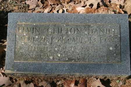 DANIEL, ELVIN CLIFTON - Crawford County, Arkansas | ELVIN CLIFTON DANIEL - Arkansas Gravestone Photos