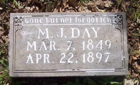DAY, M J - Crawford County, Arkansas | M J DAY - Arkansas Gravestone Photos