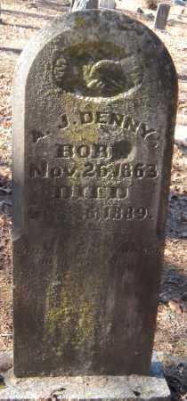 DENNY, A JESS - Crawford County, Arkansas   A JESS DENNY - Arkansas Gravestone Photos