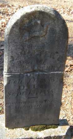 DENNY, J WALTER E - Crawford County, Arkansas | J WALTER E DENNY - Arkansas Gravestone Photos