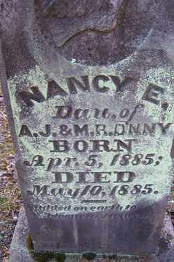 DENNY, NANCY E - Crawford County, Arkansas   NANCY E DENNY - Arkansas Gravestone Photos