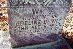DENNY, WILLIAM J - Crawford County, Arkansas | WILLIAM J DENNY - Arkansas Gravestone Photos