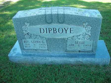 DIPBOYE, REV. GLENN G. - Crawford County, Arkansas | REV. GLENN G. DIPBOYE - Arkansas Gravestone Photos