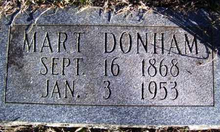 "DONHAM, J. M. ""MART"" - Crawford County, Arkansas 