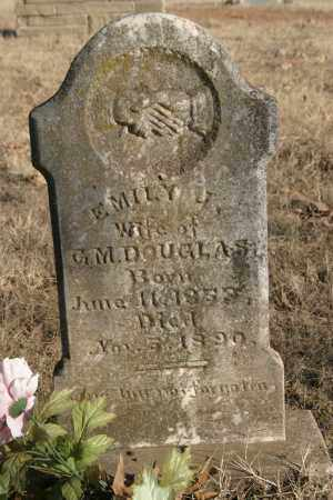 DOUGLAS, EMILY J. - Crawford County, Arkansas | EMILY J. DOUGLAS - Arkansas Gravestone Photos