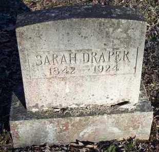DRAPER, SARAH - Crawford County, Arkansas | SARAH DRAPER - Arkansas Gravestone Photos