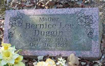 DUGGIN, BERNICE LEE - Crawford County, Arkansas | BERNICE LEE DUGGIN - Arkansas Gravestone Photos