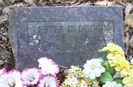 DUGGIN, LESTER G. - Crawford County, Arkansas | LESTER G. DUGGIN - Arkansas Gravestone Photos