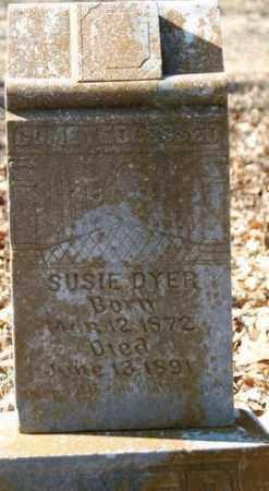 DYER, SUSIE - Crawford County, Arkansas | SUSIE DYER - Arkansas Gravestone Photos
