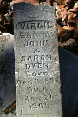 DYER, VIRGIL - Crawford County, Arkansas | VIRGIL DYER - Arkansas Gravestone Photos