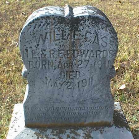 EDWARDS, WILLIE CAS - Crawford County, Arkansas | WILLIE CAS EDWARDS - Arkansas Gravestone Photos
