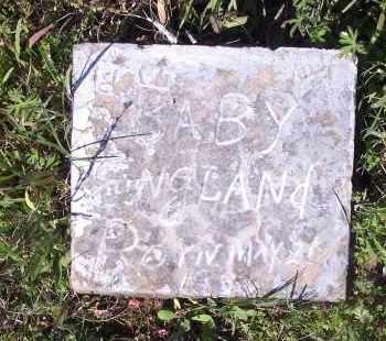 ENGLAND, BABY - Crawford County, Arkansas | BABY ENGLAND - Arkansas Gravestone Photos