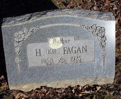 FAGAN, H. (KIE) - Crawford County, Arkansas | H. (KIE) FAGAN - Arkansas Gravestone Photos