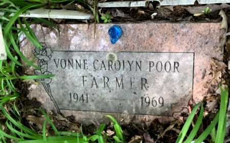 FARMER, VONNE CAROLYN - Crawford County, Arkansas | VONNE CAROLYN FARMER - Arkansas Gravestone Photos
