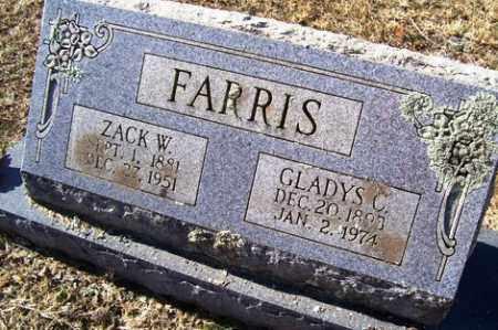 "FARRIS, ZACKERY WASHINGTON ""ZACK"" - Crawford County, Arkansas   ZACKERY WASHINGTON ""ZACK"" FARRIS - Arkansas Gravestone Photos"