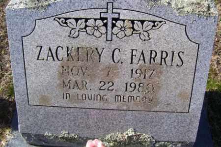 FARRIS, ZACKERY C. - Crawford County, Arkansas | ZACKERY C. FARRIS - Arkansas Gravestone Photos