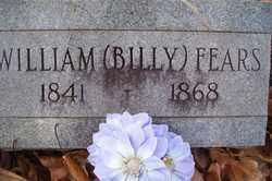 "FEARS, WILLIAM ""BILLY"" - Crawford County, Arkansas | WILLIAM ""BILLY"" FEARS - Arkansas Gravestone Photos"