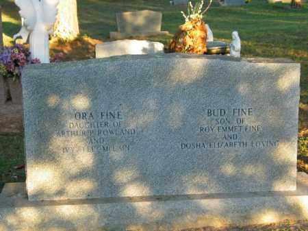 FINE, ORA - Crawford County, Arkansas | ORA FINE - Arkansas Gravestone Photos