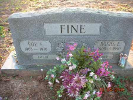 FINE, DOSHA E. - Crawford County, Arkansas | DOSHA E. FINE - Arkansas Gravestone Photos