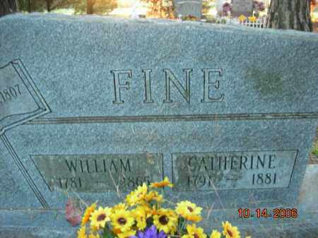 FINE, CATHERINE - Crawford County, Arkansas | CATHERINE FINE - Arkansas Gravestone Photos