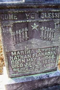 FLANAGAN, MARTHA JANE - Crawford County, Arkansas   MARTHA JANE FLANAGAN - Arkansas Gravestone Photos