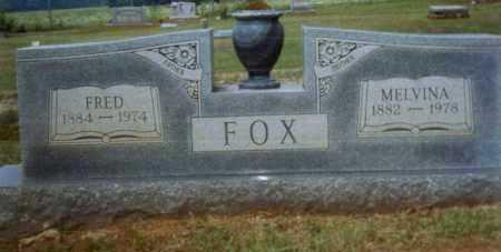 FOX, MELVINA - Crawford County, Arkansas | MELVINA FOX - Arkansas Gravestone Photos