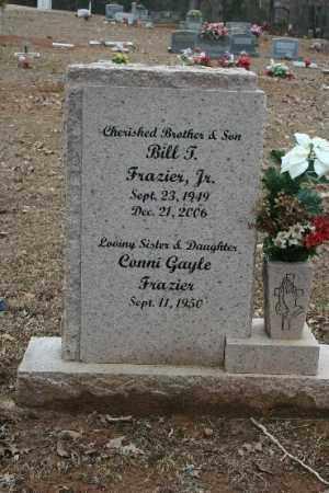 FRAIZER , JR, BILL T - Crawford County, Arkansas | BILL T FRAIZER , JR - Arkansas Gravestone Photos
