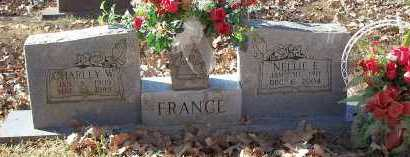 FRANCE, NELLIE F. - Crawford County, Arkansas | NELLIE F. FRANCE - Arkansas Gravestone Photos