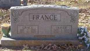 FRANCE, OLIVER - Crawford County, Arkansas | OLIVER FRANCE - Arkansas Gravestone Photos