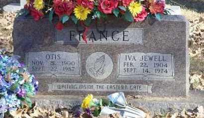 FRANCE, IVA JEWELL - Crawford County, Arkansas | IVA JEWELL FRANCE - Arkansas Gravestone Photos