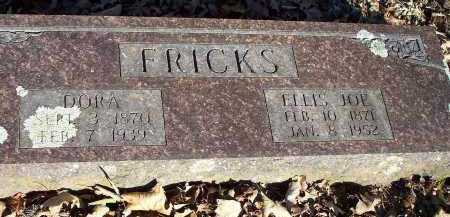 FRICKS, ELLIS JOE - Crawford County, Arkansas | ELLIS JOE FRICKS - Arkansas Gravestone Photos